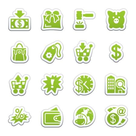 money order: Commerce icons