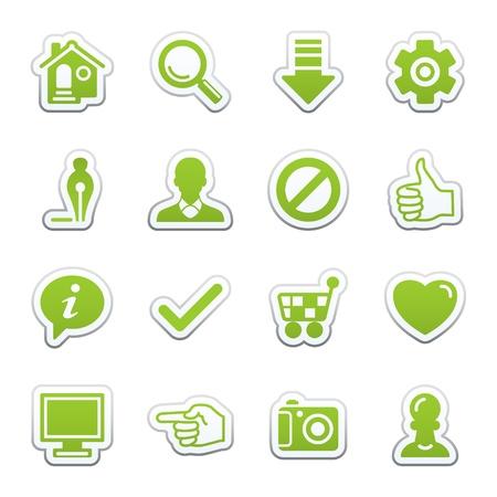 Grundlegende Web Icons.