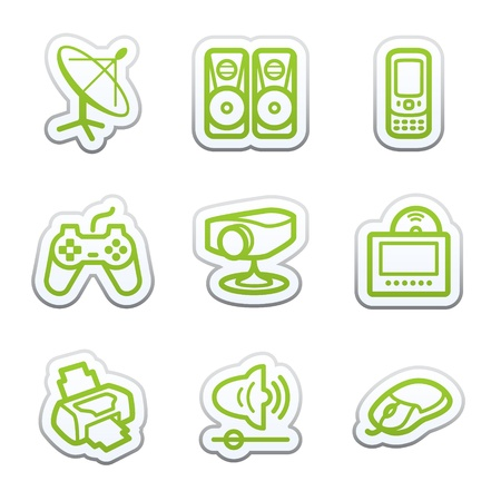 Internet sticker 21 Vector