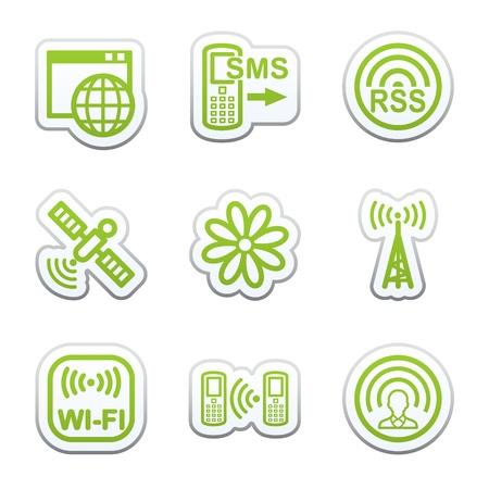 Internet sticker 30 Vector