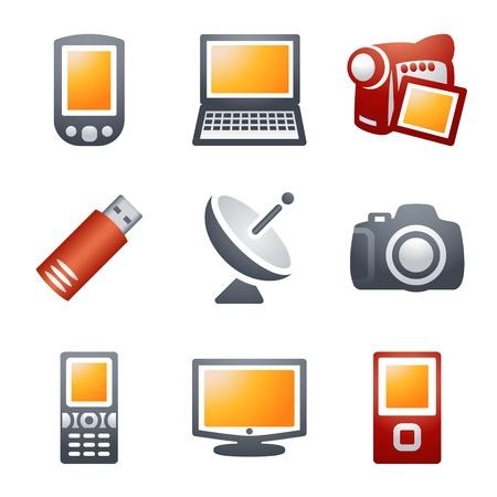 e commerce icon: Iconos de color para el sitio Web 16