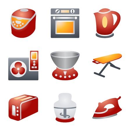 e commerce icon: Iconos de color para el sitio Web de 17 Vectores