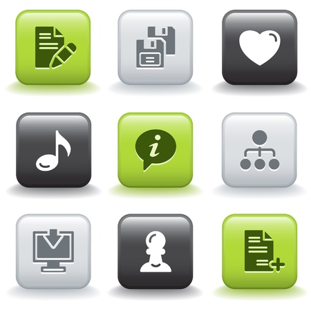 Icons with buttons 10