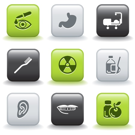 pharm: Icons with buttons 15