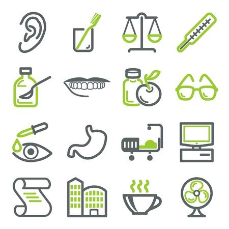 ohr: Healthcare Symbole Illustration