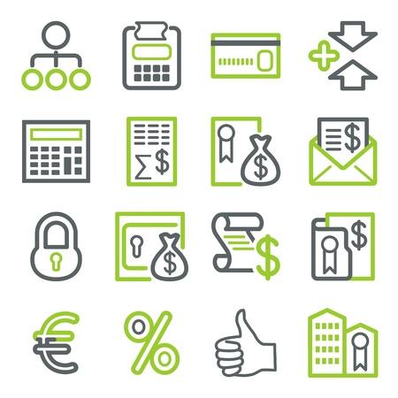 Iconos para los negocios.