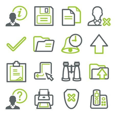 Icons for web set 2 Vector