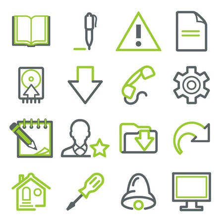 Icons for web set 4 Vector