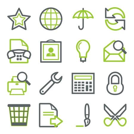 contrase�a: Iconos para web set 5