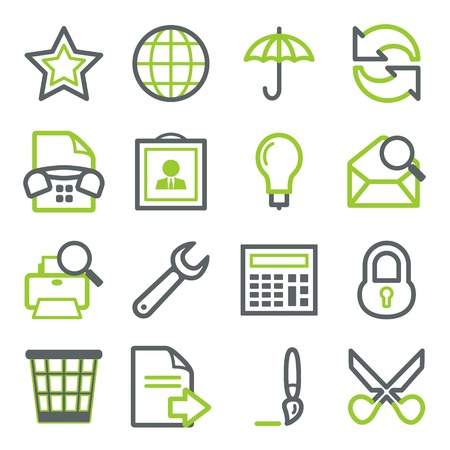 Icons for web set 5 Vector