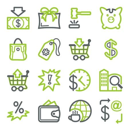 cafe internet: Iconos de web set 6