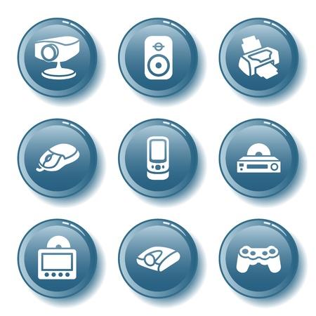psp: Blue button set 21