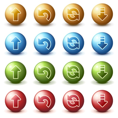 Balls for web 2 Stock Vector - 10401663