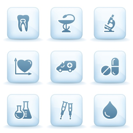 crutch: Icons blue series 12
