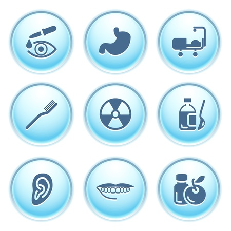 pharm: Icons on blue buttons 15