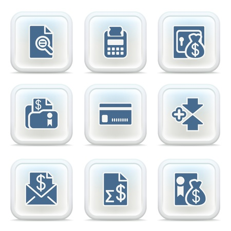 Internet icons on buttons 27 Vector