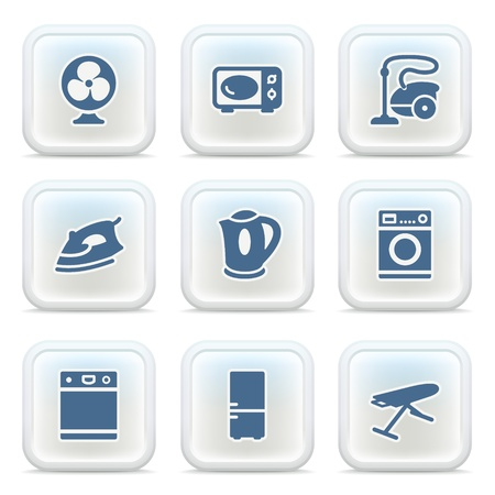 Internet icons on buttons 23 Vector