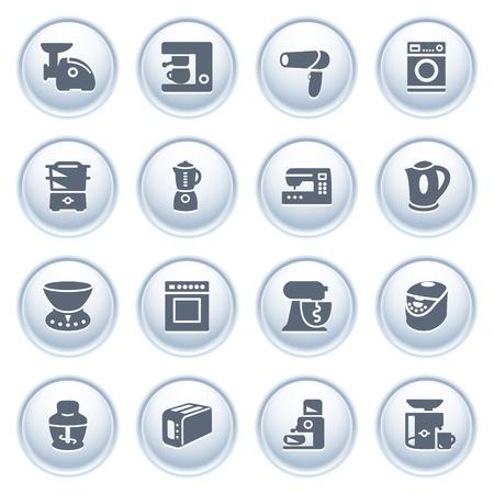 kettles: Electrodomésticos en los botones