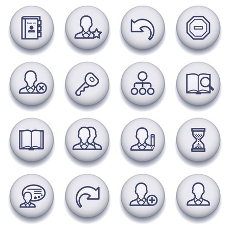 icons set for websites, guides, booklets.