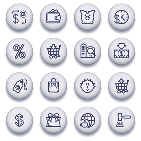 guides: Vector icons set for websites, guides, booklets. Illustration