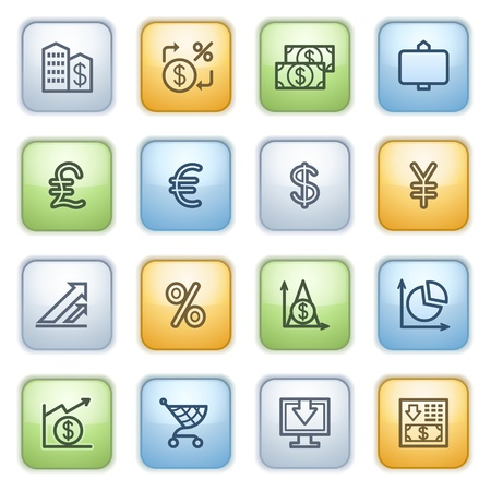 icons set for websites, guides, booklets. Stock Vector - 13870674