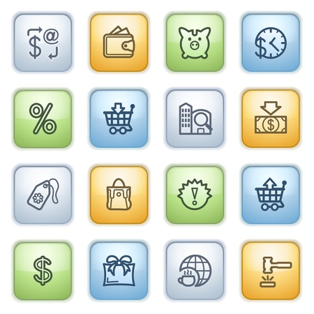 icons set for websites, guides, booklets. Stock Vector - 13870700