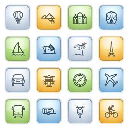 icons set for websites, guides, booklets. Stock Vector - 13870699