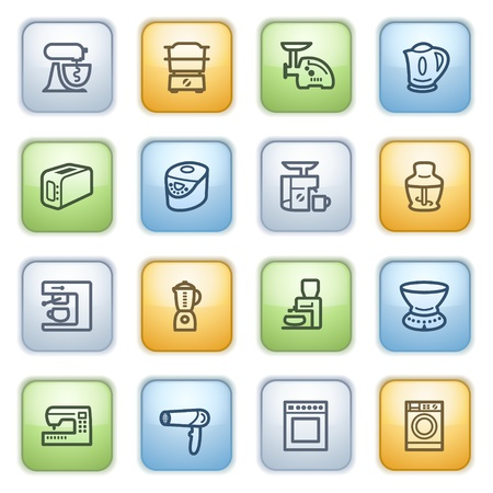Icons set for websites, guides, booklets. Stock Vector - 13870698