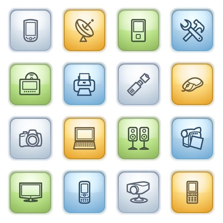 icons set for websites, guides, booklets. Stock Vector - 13870690
