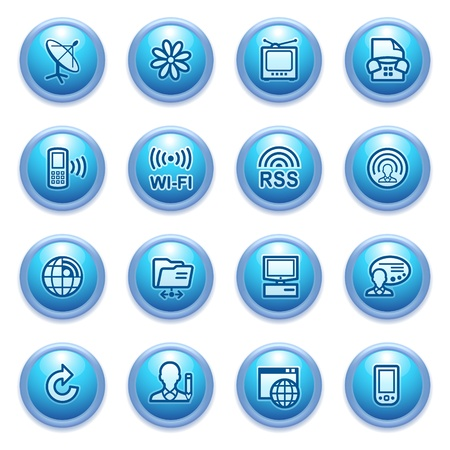 icons set for websites, guides, booklets  Vector