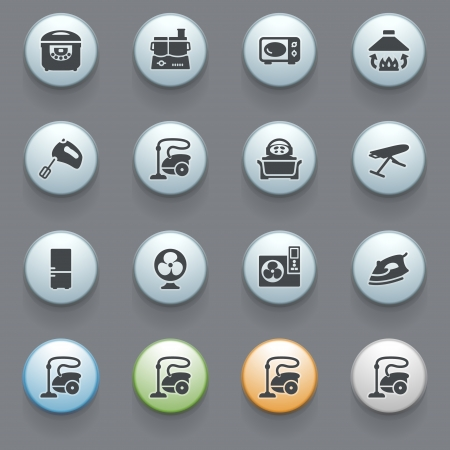 Internet icons for web site Vector