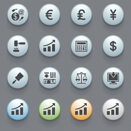 Internet icons for web site Stock Vector - 16366653