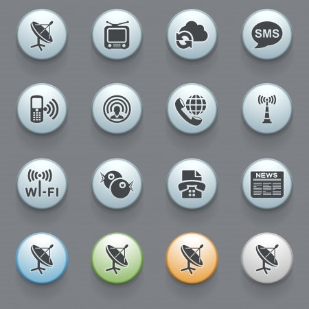 Internet icons for web site