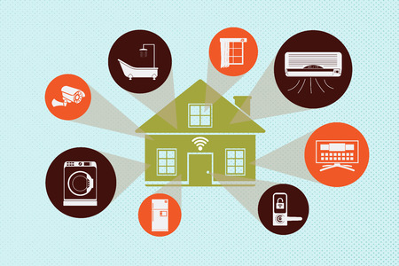 home concept using Internet of Things Technology.
