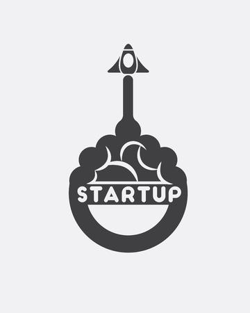 Icon of startup logo.