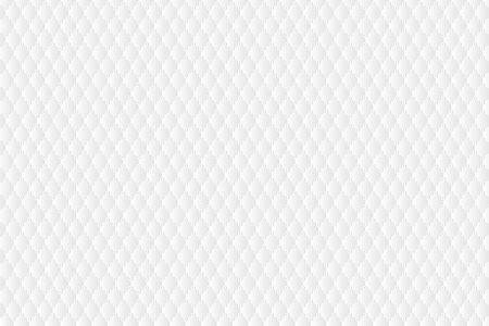 Background of clean and clear white simple pattern. Hexagon shape and circle shading repeated with empty space.  イラスト・ベクター素材