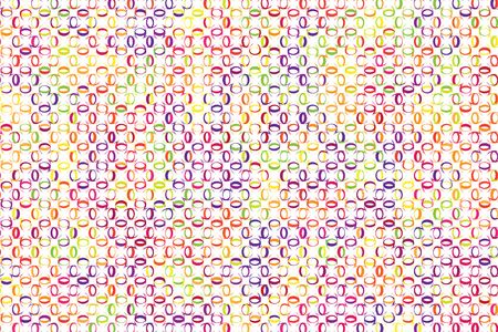 Abstract background of colorful flower or curve shape cross together. Ilustrace