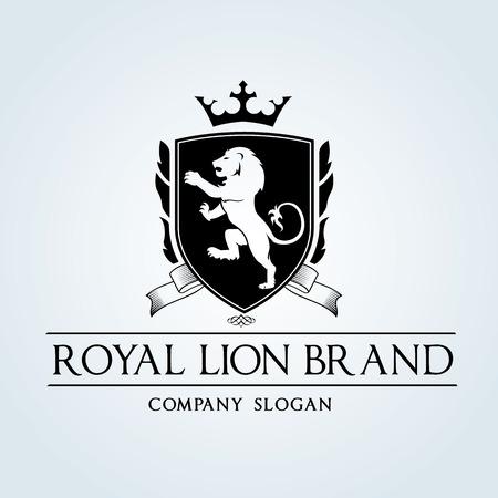 insignias: Logotipo de lujo de la vendimia