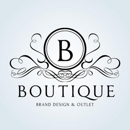Luksusowy Vintage logo Logo
