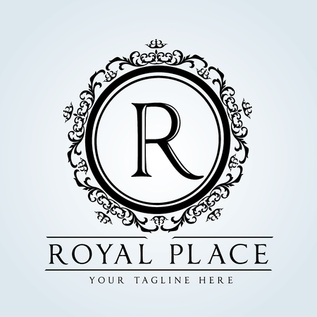 crest: Luxury Vintage logo