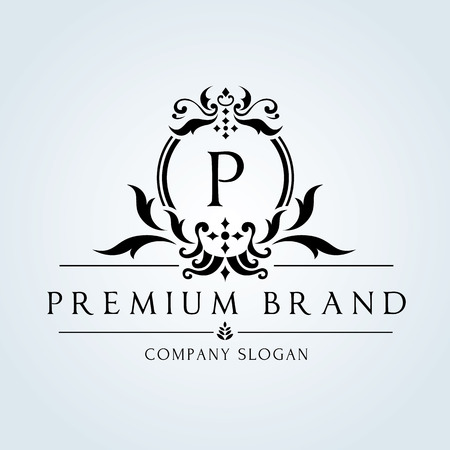 antique art: Luxury Vintage logo