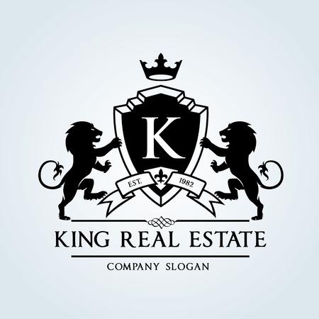 Logotipo de lujo de la vendimia