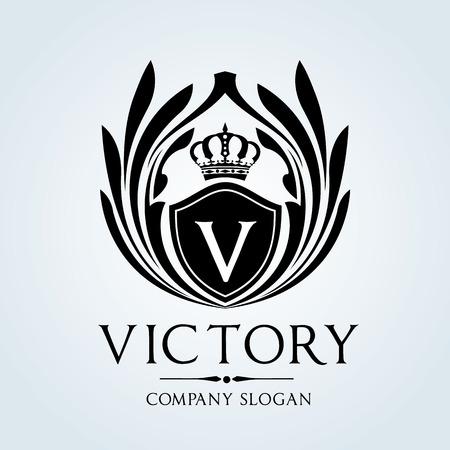 Luxe Vintage logo Stockfoto - 46666628