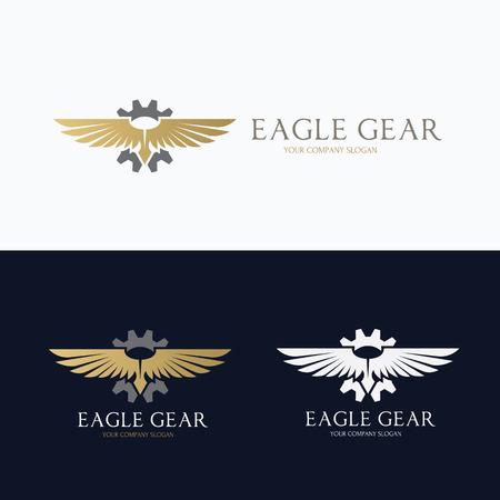 adler silhouette: Adler, brid, Tier, Vektor-Vorlage Illustration