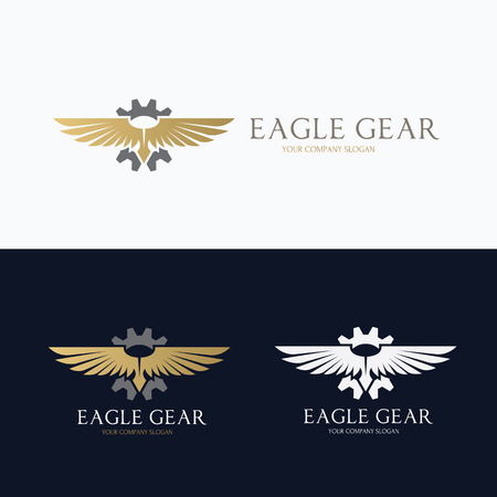 a wing: Eagle  ,brid  ,animal  ,vector   template Illustration