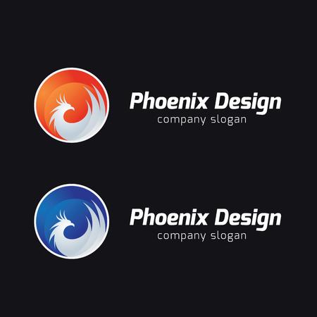 phoenix: Águila, brid, animal, la plantilla de vectores