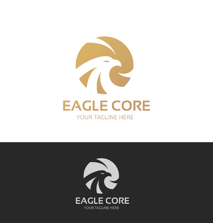 eagle head: Bird vector template