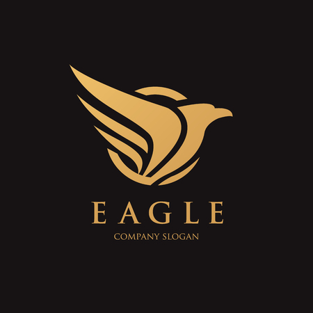 eagle symbol: Bird vector template