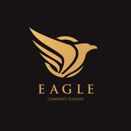 aigle: Oiseau modèle vecteur