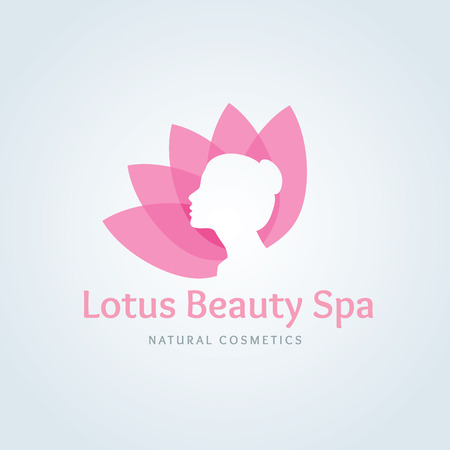 Lotus logo,Beauty logo,spa logo,vector logo template